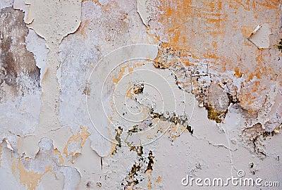 Flaking paint
