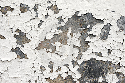 Paint Flaking Off Wall Outside