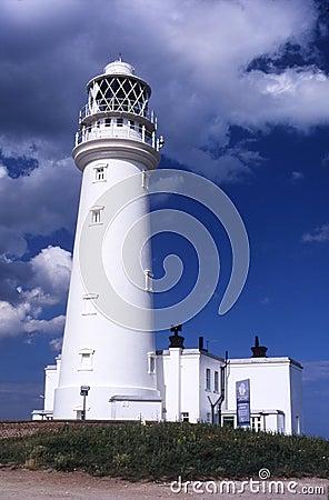 Flamborough lighthouse.