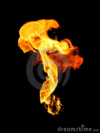 Free Flame Royalty Free Stock Images - 12759419