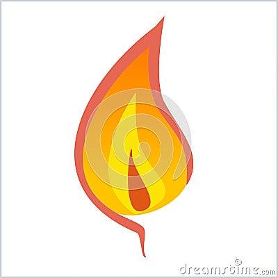 Free Flame Stock Image - 3229591