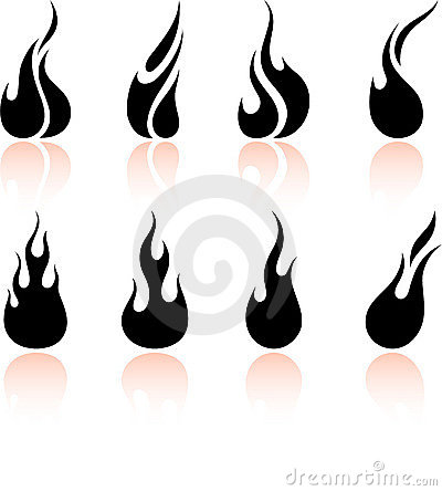 Free Flame And Fire Stock Images - 12098234
