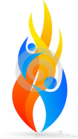 Free Flame Logo Stock Images - 25986114