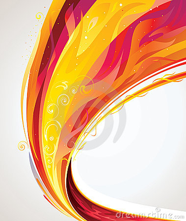 Free Flame Wave Stock Photography - 21885152