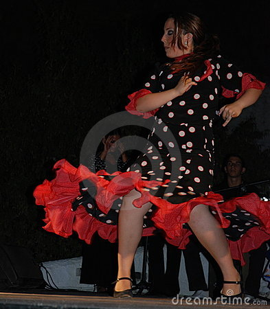 Flamenco Editorial Photo