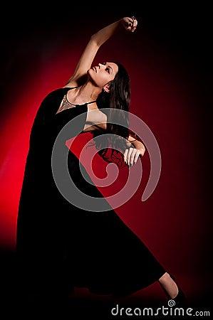 Flamenco Carmen beautiful woman