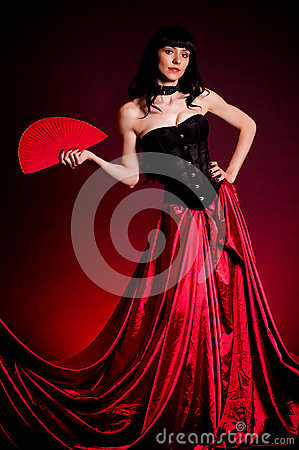 Flamenco Carmen beautiful woman