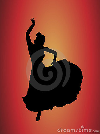 Flamenco Dancer 1 Stock Image - Image: 3738351