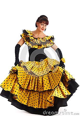 Free Flamenco Dancer Stock Photography - 10181332