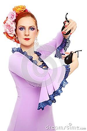Free Flamenco Dancer Stock Images - 26444524
