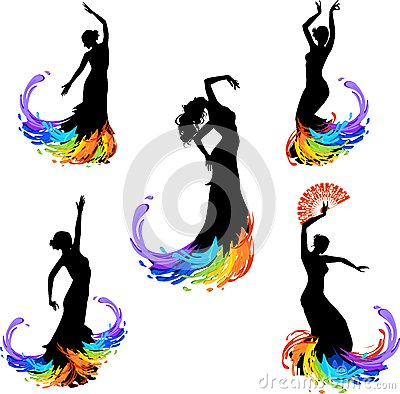 Free Flamenco Dancer Royalty Free Stock Image - 42862006