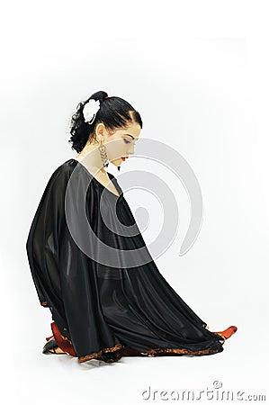 Free Flamenco Dancer Royalty Free Stock Photography - 5193307