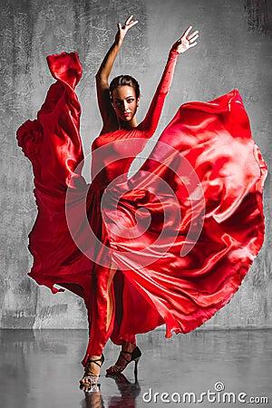 Free Flamenco Dancer Stock Photography - 52203762