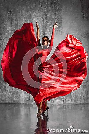 Free Flamenco Dancer Royalty Free Stock Photography - 52205577