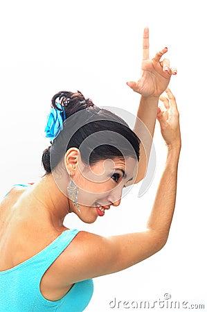 Free Flamenco Dancer Stock Image - 6418511