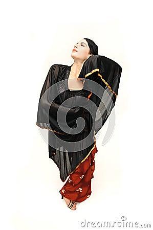 Free Flamenco Dancer Woman Stock Photography - 6415722