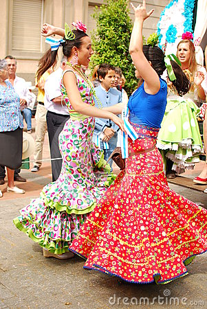Flamenco dancers Editorial Stock Photo