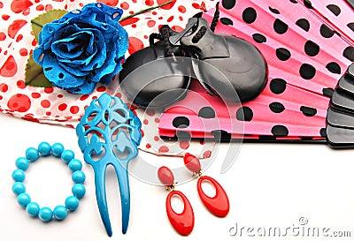 Flamenco ornaments