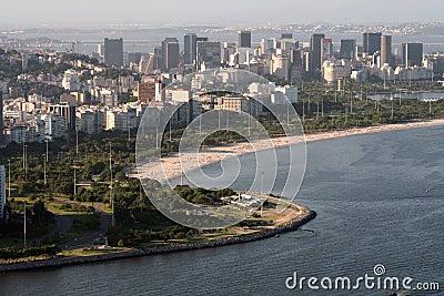 Flamengo Bay at Rio de Janeiro