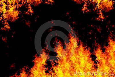 Flames background XXL