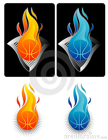 Flaming Basketball 2