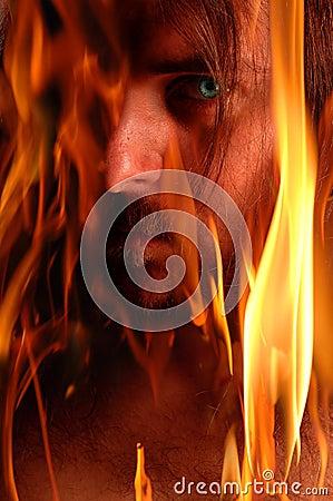 Free Flaming Demon Stock Images - 18971544