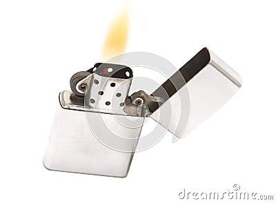 Flaming lighter