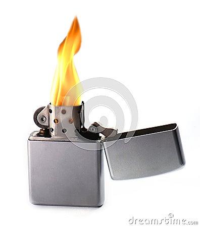 Free Flaming Lighter Stock Photos - 4471013