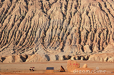 Flaming Mountain in Turpan