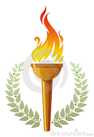 Free Flaming Torch Royalty Free Stock Photos - 5833968