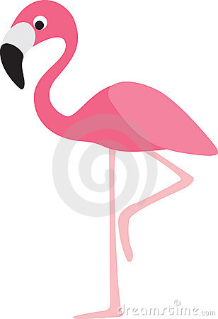 Free Flamingo Cartoon Royalty Free Stock Photos - 15125718