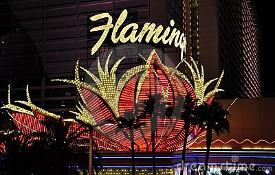 Flamingo Hotel and Casino - Las Vegas, USA Editorial Image