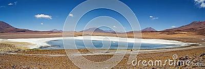 Flamingo Lake Salar de Uyuni, Bolivia