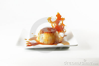 Flan - Creme caramel with caramelized creation