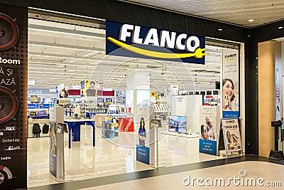Flanco Electronics Store Entrance
