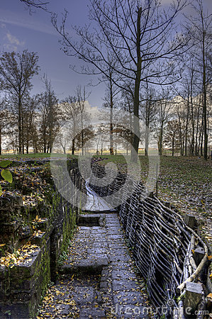 Flanders Fields, WWI Trenches