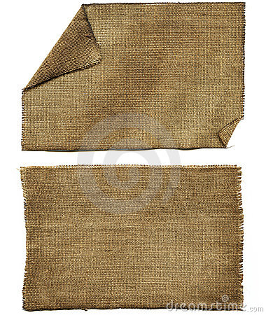 Free Flap Burlap Royalty Free Stock Images - 18374879