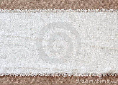 Flap burlap background, piece of natural material, can be used as background
