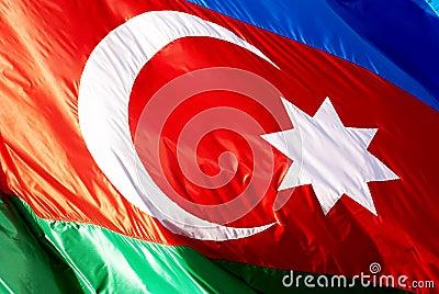 Flare Azerbaijan flag