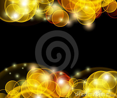 Flare Background Template Stock Image - Image: 17124301