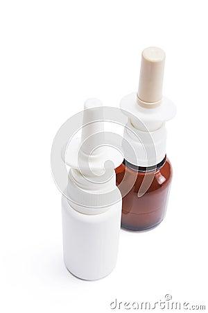 Flaschen nasaler Spray