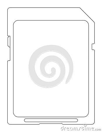 Flash card.