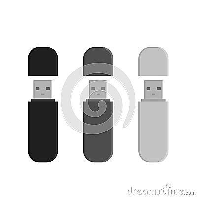 Free Flash Drive USB Memory Sticks Stock Image - 89995231