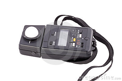 Flash light meter for photography