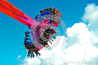 flash ride at ocean park hong kong Editorial Stock Photo