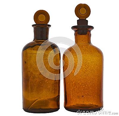 Flask amber
