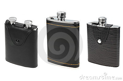 Flasks for alcohol
