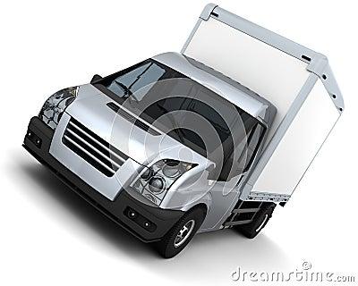 Flat bed van