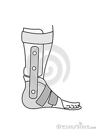 Flat feet orthose