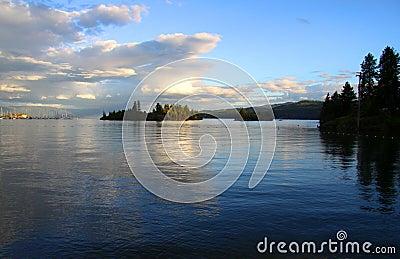 Flat head lake